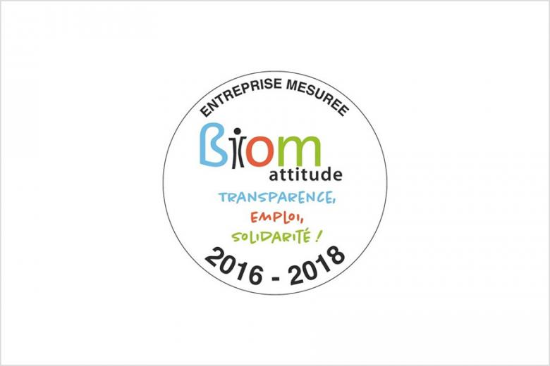 Certification BIOM 57 %